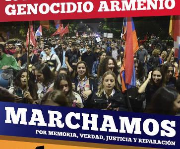 104 AÑOS GENOCIDIO ARMENIO
