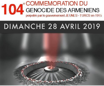 104e COMMEMORATION DU GENOCIDE DES ARMENIENS à ALFORTVILLE