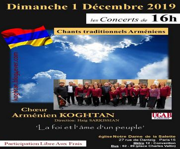 150 ans de Komitas à Paris