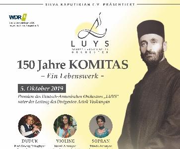 150th Anniversary of KOMITAS