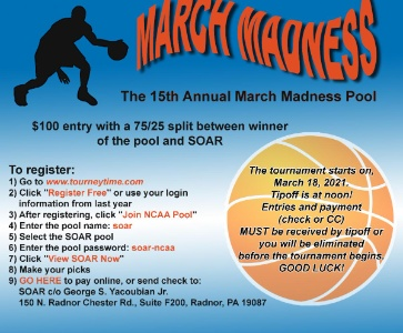 15th Annual SOAR March Madness