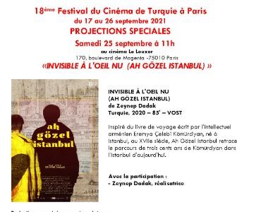 18ème Festival du Cinéma de Turquie à Paris