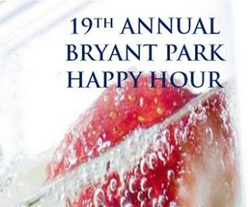19th Annual Bryant Park Happy Hour