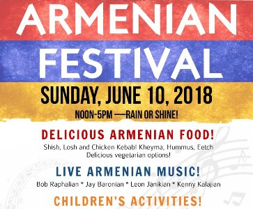 2018 St. James Armenian Festival!