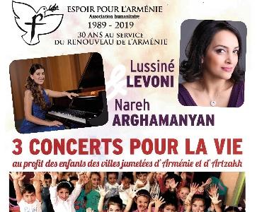 3 concerts pour la vie