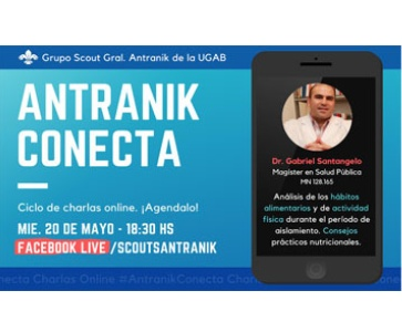 ⚜️Antranik Conecta-Online Live Conference with Dr. Santangelo