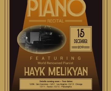 Classical Piano Concert - Hayk Melikyan