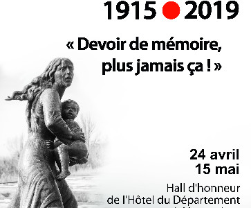 """Exposition """"Le Génocide des Arméniens"""""""
