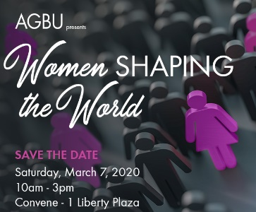 AGBU presents: Women Shaping the World