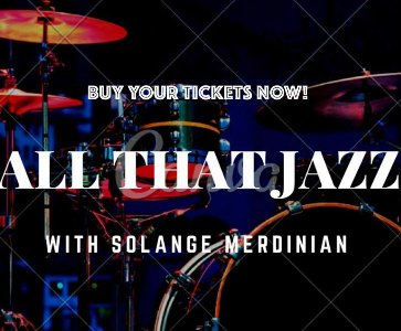 All that Jazz with Solange Merdinian