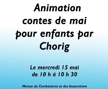 Animation contes pour enfants à partir de 3 ans