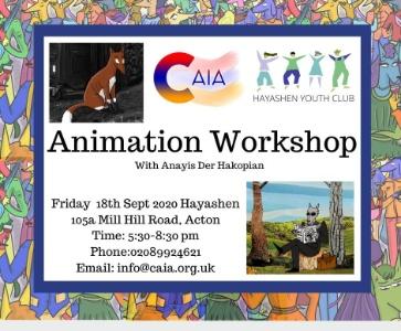 Animation workshop with Anayis Der Hakopian