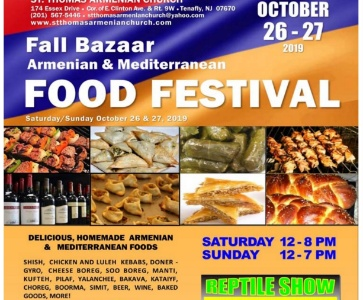 Annual Fall Bazaar and Food Festival
