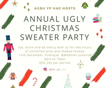 Annual Ugly Christmas Sweater Party