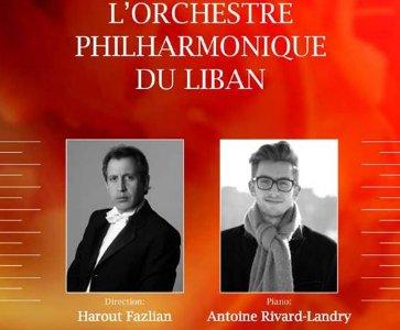 Antoine Rivard-Landry (Piano) & Harout Fazlian (Maestro)