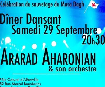 ARARAD AHARONIAN & son orchestre