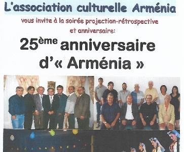 """Arménia"" fête son 25e anniversaire"