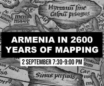 Armenia in 2600 Years of Mapping