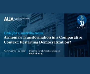 Armenia's Transformation in a Comparative Context: Restarting Democratization?