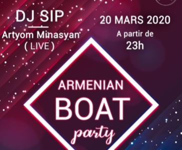 Armenian Boat Party [REPORTE]