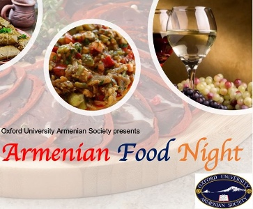 Armenian Food Night