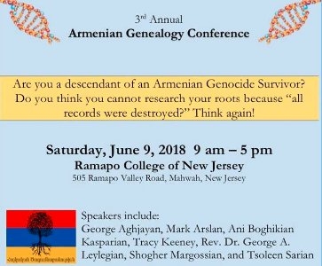 Armenian Genealogy Conference