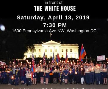 Armenian Genocide Candlelight Vigil