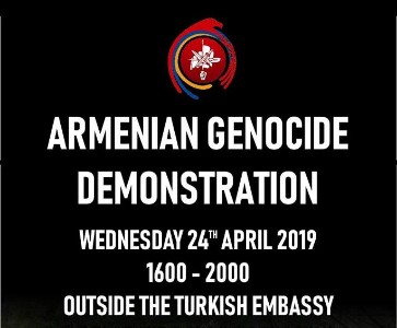 Armenian Genocide Commemoration Demonstration