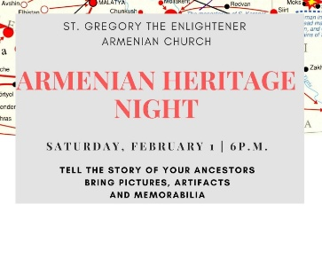 Armenian Heritage Night