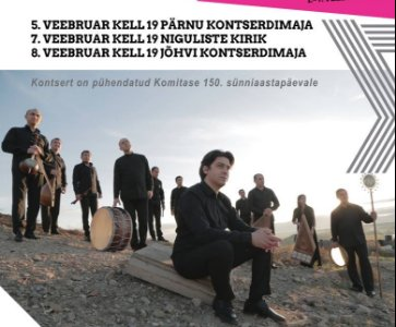 Armenian Music Concert in Jõhvi, Estonia