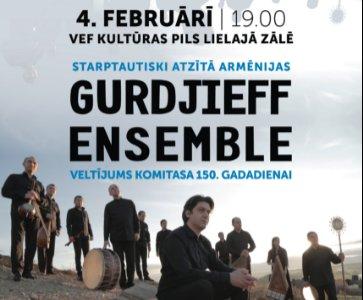 Armenian Music Concert in Riga, Latvia