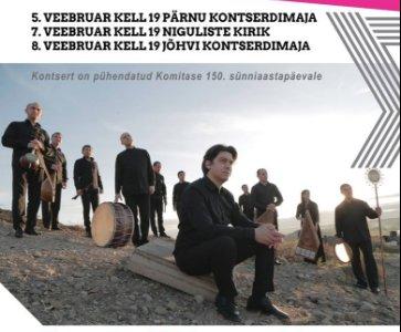 Armenian MusicConcert in Tallinn, Estonia