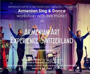 Armenian Sing and Dance Workshop !