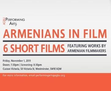 Armenians in Film at London Curzon Victoria