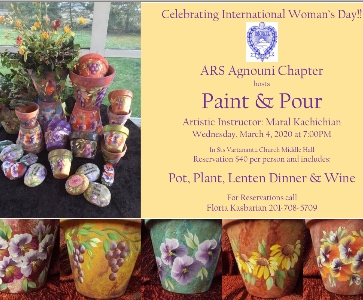 ARS Agnouni Chapter hosts Paint & Pour