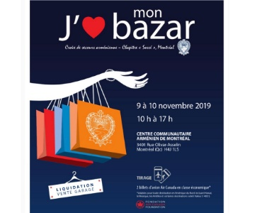 ARS Montreal Sosse Chapter Annual Bazaar 2019