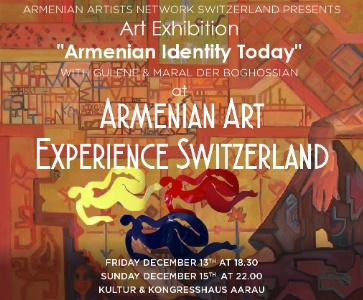 "Art Exhibition ""Armenian Identity Today"" with sculptures of Gulène Torossian Der Boghossian and paintings of Maral Der Boghossian"