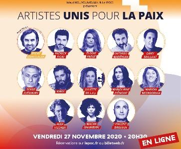Artistes unis pour la paix