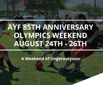 AYF West 85th Anniversary Olympics Weekend