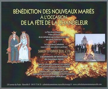 Bénédiction des nouveaux mariés
