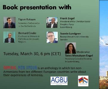 Book Presentation: Armenia, mon amour
