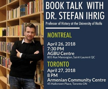 Book Talk with Dr. Stefan Ihrig