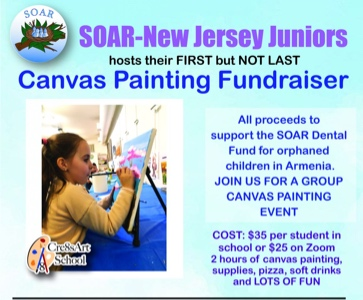 Canvas Painting Fundraising