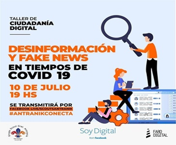 ⚜️Antranik Conecta-Online Live Conference about Desinformation and Fake News in times of Covid 19
