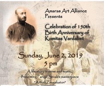 Celebrating the 150th Birth Anniversary of Komitas Vartabet