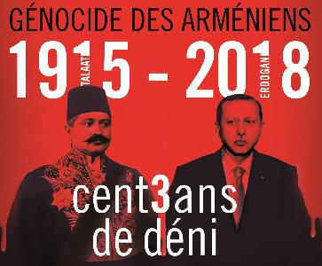 Commémoration du Génocide des Arméniens à Paris