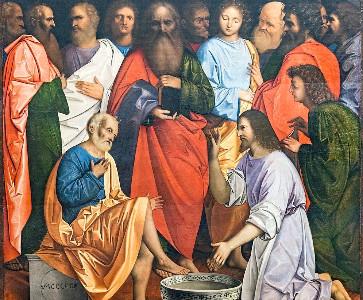 Cérémonie du lavement des pieds