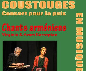 Chants arméniens - concert pour la paix