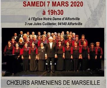Chorale Sahak-Mesrop de Marseille