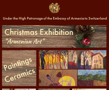 "Christmas Exhibition ""Armenian Art"""